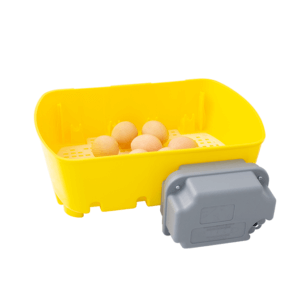 Digital incubator ET 12 with OVOMATIC egg turning unit and antibacterial additive Biomaster™, item no. 512/A/BM