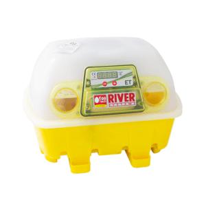 Incubatrice semi-automatica per uova digitale ET 12 con additivo antibatterico Biomaster™, art. 512/BM