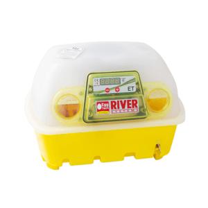 Incubatrice semi-automatica per uova digitale ET 12 con additivo antibatterico Biomaster™, art. 512/BM - retro
