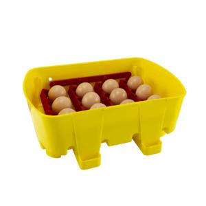 Incubatrice digitale semi-automatica ET 12 con additivo antibatterico Biomaster™ - vassoio porta uova