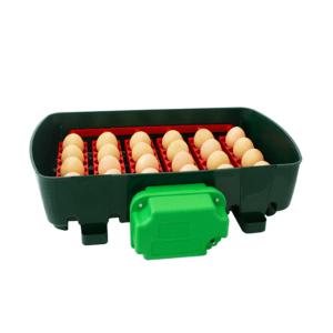 Incubatrice digitale ET 24 con unità girauova OVOMATIC - vassoio porta uova