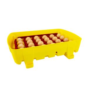 Incubatrice digitale semi-automatica ET 24 con additivo antibatterico Biomaster™ - vassoio porta uova