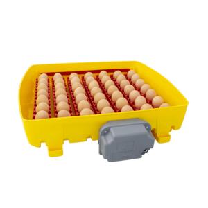 Incubatrice digitale ET 49 con unità girauova Ovomatic ed additivo antibatterico Biomaster™ - vassoio porta uova