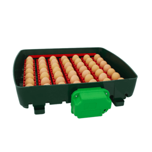 Incubatrice digitale ET 49 con unità girauova OVOMATIC - vassoio porta uova