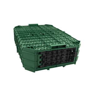 Plastic crate for game transportation with 2 front doors, item no. 1541-06