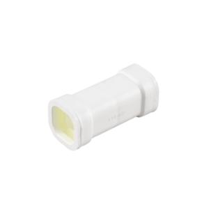 Conexión de 6cm con juntas para tubo cuadrado 22x22mm, art. 4353-04