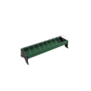 50cm linear feeder with metal grid for chicken, item no. 121/A