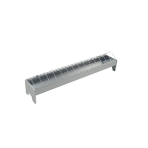 75cm linear feeder with grid for chicken, item no. 122/A