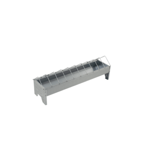 50cm linear feeder with grid for chicken, item no. 122