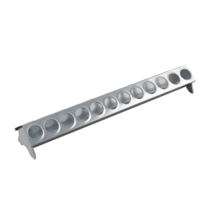 50cm linear feeder for chicks with 24-hole lid, item no. 124/A