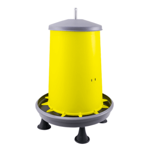 20L hopper feeder with metal central rod and legs, item no. 126/A/P