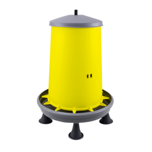 20L hopper feeder with plastic threaded bar and legs, item no. 126/AR/P