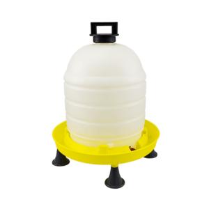 Siphontränke 15L mit Henkel-Deckel und Füßen, art. 140/B/P