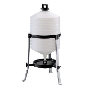 Tränke mit Behälter aus Polypropylen mit konstantem Füllstand Typ 30 Liter, Art. Nr. 141/A