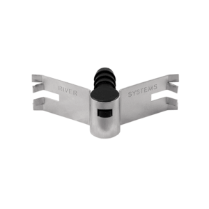 Stainless steel clip with nipple holder, item no. 145/B/CLIP