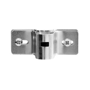 Screw bracket with nipple holder and T connection, item no. 145/M/CLIP