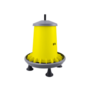 ARCUS GYRO 9L hopper feeder with anti-waste fins, plastic threaded bar and legs, item no. 2111P