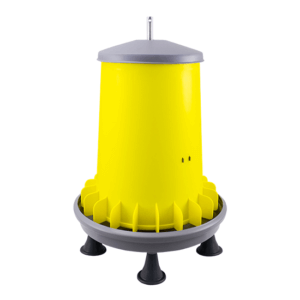 ARCUS 20L hopper feeder with anti-waste fins, metal central rod and legs, item no. 2120P