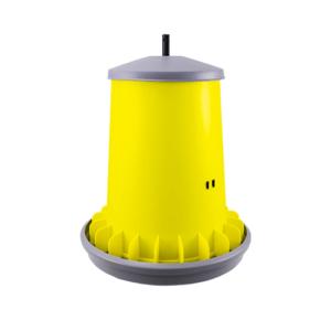 ARCUS GYRO 20L Trichter-Futterautomat mit Lamellen zur Verhinderung von Futterverschwendung und Gewindestange aus Kunststoff, Art. Nr. 2121