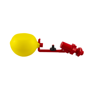 """Ball valve with 1⁄2"""" thread and double injector, item no. 4204-04"""