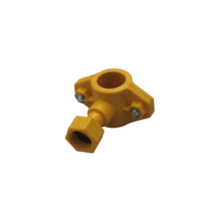"Clamp with sleeve cap nut 1⁄2"" for pipe ø25–26.7, item no. 4378-00"