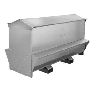 Mangiatoia GRANDIA in lamiera zincata da esterno da 500kg, art. 7500