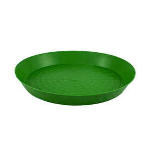 ø40cm green plastic feed tray for one day-old chicks, item no. 297-06