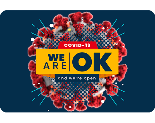 We are ok and we are open