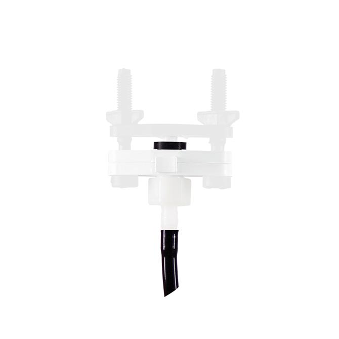 Bebedero automático tipo campana con válvula para manguera 6x9mm, completo de 3m de manguera y junta rápida para pollos, ponedoras y pavos jóvenes, art. 8022 - Junta rápida blanca para bebedero automático