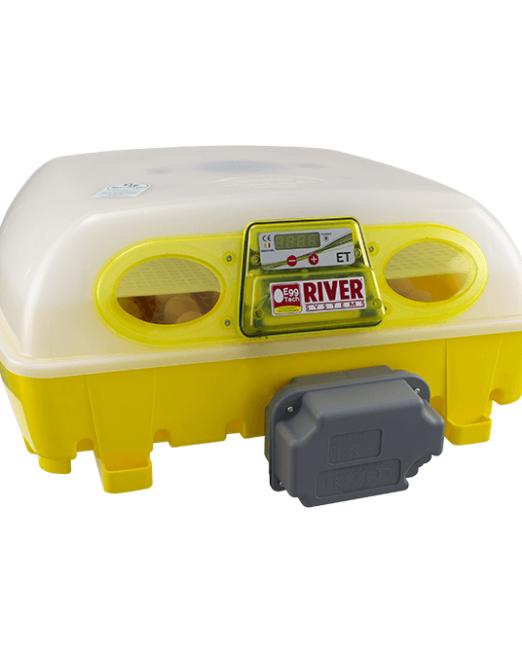 Incubatrice digitale ET 49 con unità girauova Ovomatic ed additivo antibatterico Biomaster™
