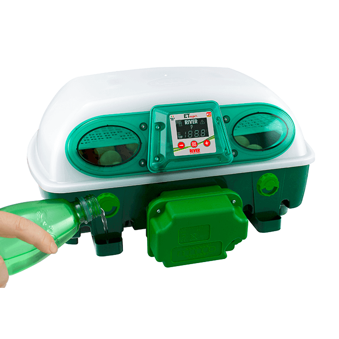 Bocchette di riempimento incubatrice ET Super 24