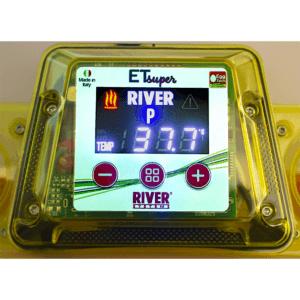"""Incubatrice digitale ET 12 Super con unità girauova """"Ovomatic"""" ed additivo antibatterico Biomaster™_display"""